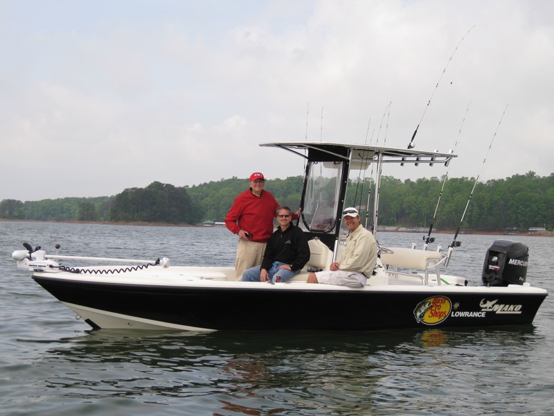 My Boat.. I charter my trips with a 22 ft Mako Center Console ideally suited ...